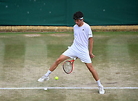 9th July 2021, Wimbledon, SW London, England; 2021 Wimbledon Championships, semi finals; Junior Event Max Hans Rehberg , Germany