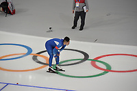 OLYMPIC GAMES: PYEONGCHANG: 19-02-2018, Gangneung Oval, Long Track, 500m Men, Mo Tae-Bum (KOR), ©photo Martin de Jong