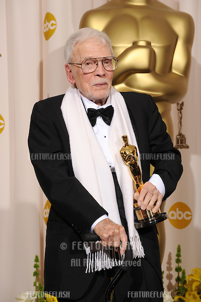 Robert Boyle at the 80th Annual Academy Awards at the Kodak Theatre, Hollywood..February 24, 2008 Los Angeles, CA.Picture: Paul Smith / Featureflash