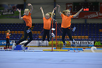 TURNEN: HEERENVEEN: 08-07-2018, IJsstadion Thialf, Dutch Gymnastics Thialf Summer Challenge, jeugdvrijwilligsters, ©foto Martin de Jong
