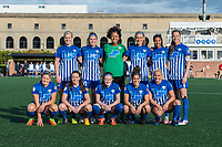 Boston, MA - Sunday May 07, 2017: Boston Breakers starting eleven prior to a regular season National Women's Soccer League (NWSL) match between the Boston Breakers and the North Carolina Courage at Jordan Field.