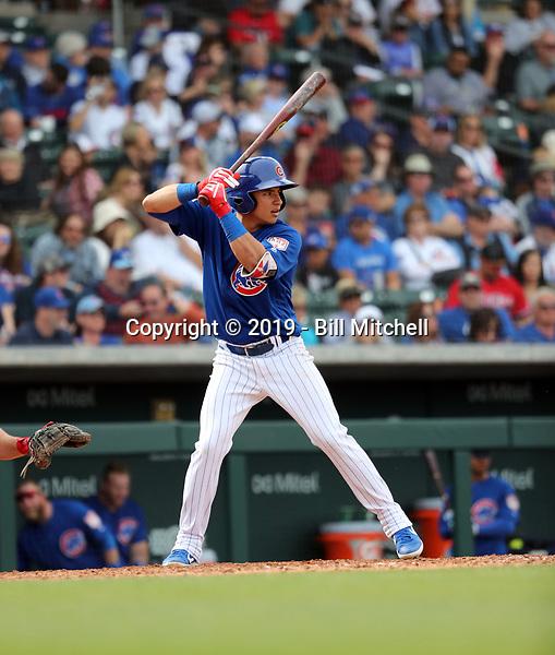 Jhonny Bethencourt - Chicago Cubs 2019 spring training (Bill Mitchell)