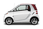 Driver side profile view of a 2013 Smart For Two Cabriolet
