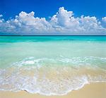Mexiko, Yucatan: Traumstrand am Karibischen Meer | Mexico, Yucatan: View over Caribbean Waters