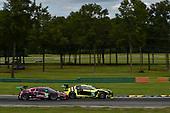 #86 Meyer Shank Racing w/ Curb-Agajanian Acura NSX GT3, GTD: Mario Farnbacher, Trent Hindman, #14 AIM Vasser Sullivan Lexus RC F GT3, GTD: Richard Heistand, Jack Hawksworth