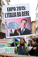 Milano 1 may 2015<br /> Demonstration against EXPO 2015.<br /> Photo Livio Senigalliesi