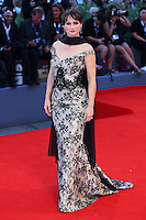 Lorena Bianchetti attends the red carpet for the Kineo Award, during the 72nd Venice Film Festival at the Palazzo Del Cinema in Venice, Italy, September 6, 2015.<br /> UPDATE IMAGES PRESS/Stephen Richie