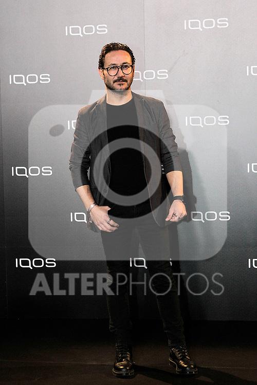 Carlos Santos attends to IQOS3 presentation at Palacio de Cibeles in Madrid. February 10,2019. (ALTERPHOTOS/Alconada)