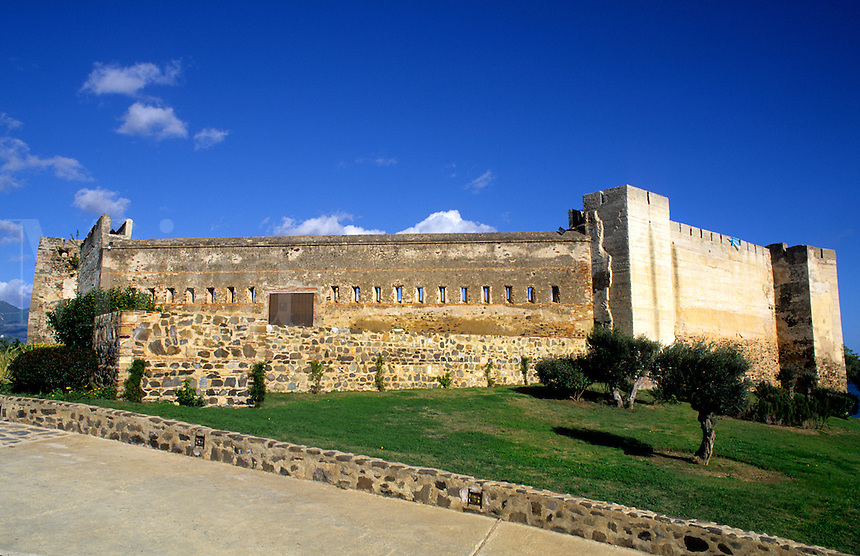 Old San Isidro Arabic Castle in Spain on the Southern Coast of Costa del Sol
