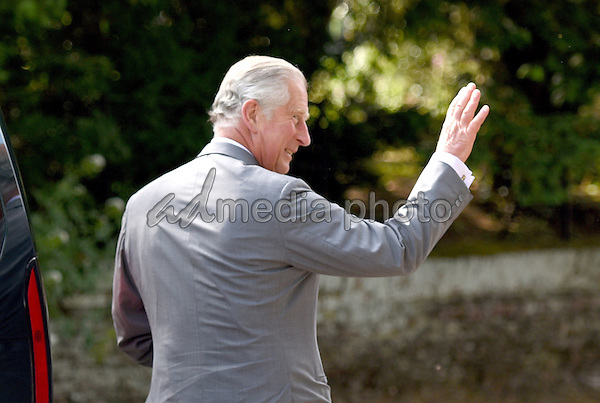 05 July 2015 - King's Lynn, United Kingdom - Prince Charles. The Christening of Princess Charlotte of Cambridge at the Church of St Mary Magdalene on the Sandringham Estate. Photo Credit: Alpha Press/AdMedia