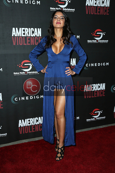 "Paola Paulin<br /> at the ""American Violence"" World Premiere, Egyptian Theater, Hollywood, CA 01-25-17<br /> David Edwards/DailyCeleb.com 818-249-4998"