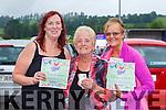 Helen, Kate and Mary Hartnett Abbeyfeale were delighted to get back to bingo in Killarney on Sunday evening