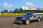 Jun 8, 2011; 5:21:09 PM; Rossburg, OH., USA; The 7th running of the Gillette Fusion ProGlide Prelude to the Dream  Dirt Late Models at the Eldora Speedway.  Mandatory Credit: (thesportswire.net)