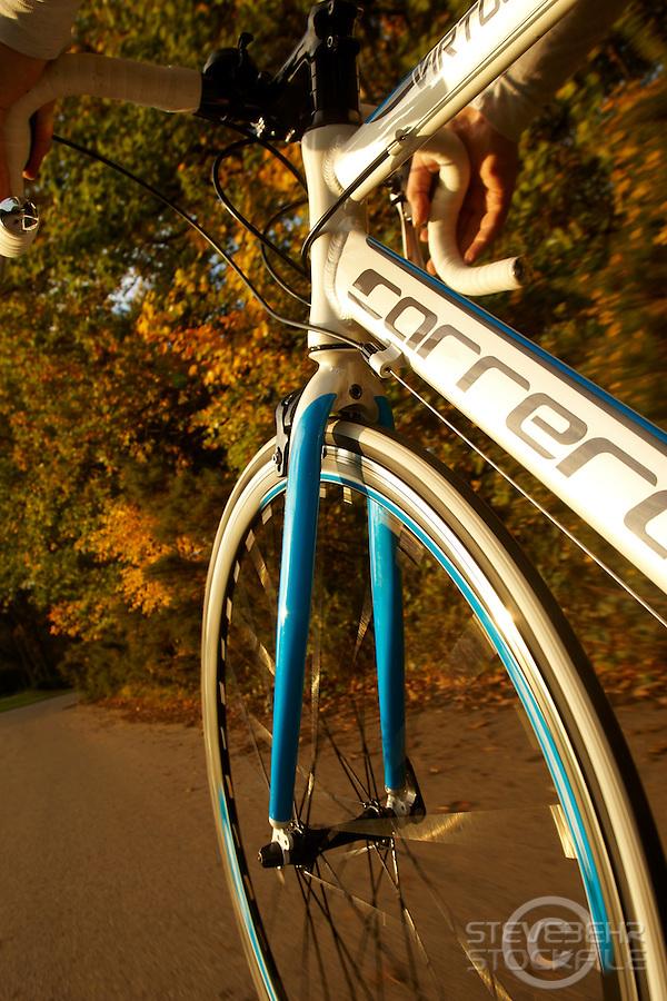 Carrera Virtuoso Road Bike , Virginia Water, Surrey  October 2011 pic copyright Steve Behr / stockfile
