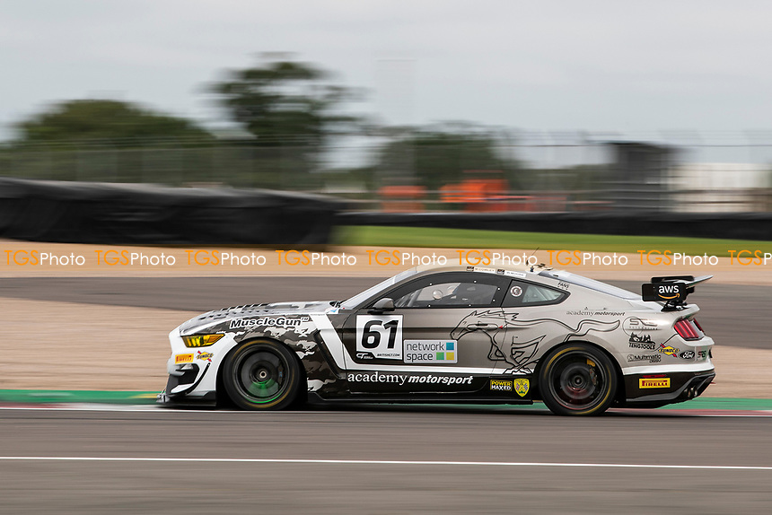 Will Moore & Matt Cowley, Ford Mustang GT4, Academy Motorsport through Fogarty Esses during the British GT & F3 Championship on 10th July 2021