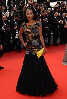 CANNES, FRANCE. July 15, 2021: Elizabeth Tchoungui at the France premiere at the 74th Festival de Cannes.<br /> Picture: Paul Smith / Featureflash