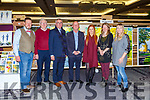 Tom Leslie, Brendan coffey Irish pilgrimage Trust, Dr George Philips Assistant Gov of Totary Ireland zone 9, Emma Griffin, Tina Reed artist and Lottie Lyne Stephen Lyne Foundation at the Killarney Rotary club Wine and ARt evening in the Great Southern Hotel