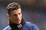 Cristiano Ronaldo of Real Madrid in training prior to the La Liga match between Real Madrid and Real Sociedad at the Santiago Bernabeu Stadium on 29 January 2017 in Madrid, Spain. Photo by Diego Gonzalez Souto / Power Sport Images