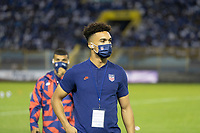 SAN SALVADOR, EL SALVADOR - SEPTEMBER 2: Antonee Robinson of the United States during a game between El Salvador and USMNT at Estadio Cuscatlán on September 2, 2021 in San Salvador, El Salvador.