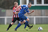 Andy Tomlinson in action for Hornchurch - AFC Hornchurch vs Bishop's Stortford - FA Trophy 3rd Qualifying Round Football at The Stadium, Upminster Bridge, Essex - 10/11/12 - MANDATORY CREDIT: Gavin Ellis/TGSPHOTO - Self billing applies where appropriate - 0845 094 6026 - contact@tgsphoto.co.uk - NO UNPAID USE