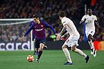UEFA Champions League 2018/2019.<br /> Quarter-finals 2nd leg.<br /> FC Barcelona vs Manchester United: 3-0.<br /> Philippe Coutinho vs Victor Lindelof.