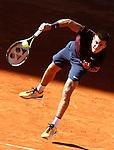 Born Coric, Croatia, during Madrid Open Tennis 2016 match.May, 4, 2016.(ALTERPHOTOS/Acero)