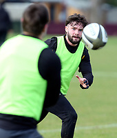 16th February 2021;  Bill Johnston during an Ulster Rugby squad pitch session held at Pirrie Park, Belfast, Northern Ireland. Photo by John Dickson/Dicksondigital
