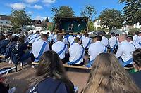 Kerwegottesdienst mit Heidemarie Ludolf - Büttelborn 19.09.2021: Biddelberner Kerb an der Tornhall