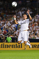 Pepe (3) of Real Madrid. Real Madrid defeated A. C. Milan 5-1 during a 2012 Herbalife World Football Challenge match at Yankee Stadium in New York, NY, on August 8, 2012.