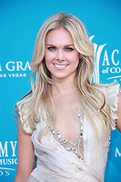 LAS VEGAS - APRIL 18: Laura Bell Bundy arrives for the 45th Annual Academy of Country Music Awards at the MGM Grand Garden Arena on April 18, 2010 in Las Vegas, Nevada.<br /> <br /> People:  Laura Bell Bundy