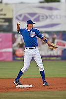 April 21 2010: Brett Jackson (13) of the Daytona Beach Cubs during a game vs. the Tampa Yankees at Jackie Robinson Ballpark in Daytona Beach, Florida. Daytona, the Florida State League High-A affiliate of the Chicago Cubs, lost the game against Tampa, affiliate of the New York Yankees, by the score of 4-1.  Photo By Scott Jontes/Four Seam Images