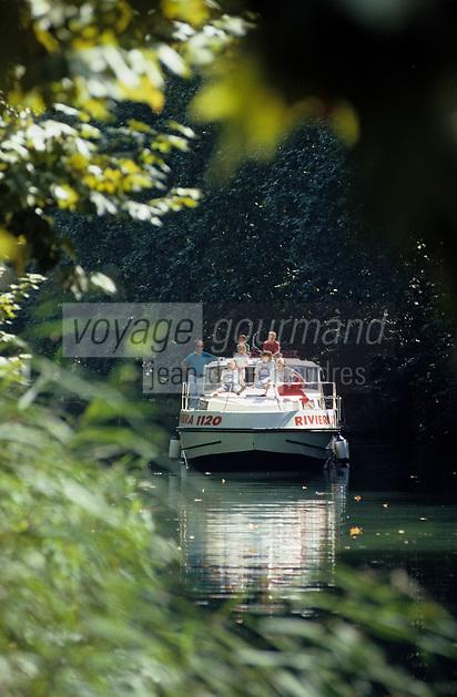 Europe/France/Aquitaine/47/Lot-et-Garonne/Env de Buzet: Tourisme fluvial