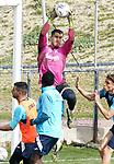 Getafe CF's Ruben Yanez during training session. February 17, 2021.(ALTERPHOTOS/Acero)