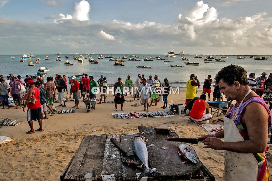 Colonia de pescadores de Mucuripe. Fortaleza. Ceara. 2015. Foto de Ubirajara Machado.