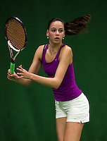 6-12-09, Almere, Tennis, REAAL winterjeugdcircuit, Masters, Erika Vogelsang