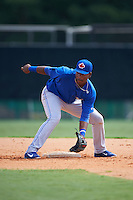 Toronto Blue Jays Jesus Severino (46) during practice before an instructional league game against the Atlanta Braves on September 30, 2015 at the ESPN Wide World of Sports Complex in Orlando, Florida.  (Mike Janes/Four Seam Images)