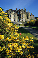 Europe/Grande-Bretagne/Ecosse/Highland/Invergarry : Glengarry Castle le château époque victorienne abrite un hôtel