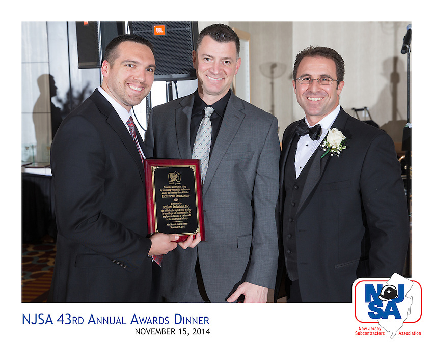 at the 2014 New Jersey Subcontractors Association 43rd annual gala awards celebration at The Heldrich Hotel on Sat., Nov. 15 in New Brunswick.