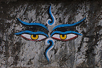 Eyes of Buddha, Durbar Square and old Town Area