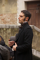 Venice Grand Canal background film shoot for Effie (screenplay by Emma Thompson and Greg Wise)