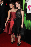 "LOS ANGELES, CA - FEBRUARY 04: Sarah Hyland, Zoey Deutch at the Los Angeles Premiere Of The Weinstein Company's ""Vampire Academy"" held at Regal Cinemas L.A. Live on February 4, 2014 in Los Angeles, California. (Photo by Xavier Collin/Celebrity Monitor)"
