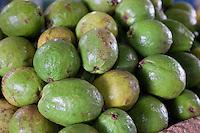 Cuba, Havana.  Guava, Spanish Guayaba, Fruits.