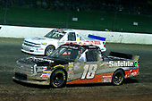 #18: Noah Gragson, Kyle Busch Motorsports, Toyota Tundra Safelite AutoGlass and #83: Nick Hoffman, Copp Motorsports, Chevrolet Silverado