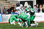 Army Black Knights quarterback Ahmad Bradshaw (17) in action during the Zaxby's Heart of Dallas Bowl game between the Army Black Knights and the North Texas Mean Green at the Cotton Bowl Stadium in Dallas, Texas.