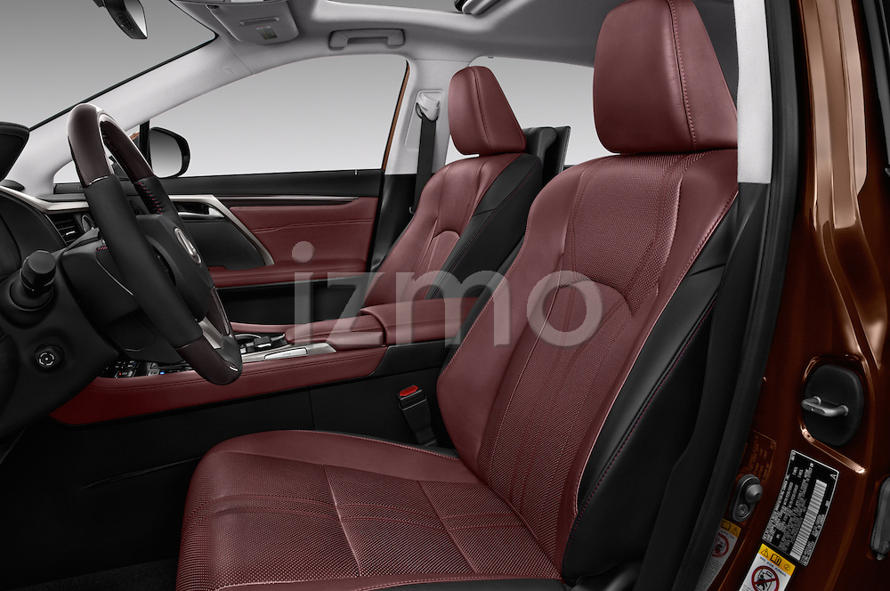 Front seat view of 2016 Lexus RX Privilege Line 5 Door Suv Front Seat  car photos
