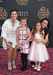 """Kyle Richards and Portia Umansky,Estela Ines Monteverde and Ali Landry attends The Premiere Of Disney's """"Alice Through The Looking Glass"""" held at The El Capitan Theatre  in Hollywood, California on May 23,2016                                                                               © 2016 Hollywood Press Agency"""