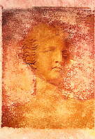 Bust of Venus - Ancient Roman Goddess of Love - Polaroid Transfer