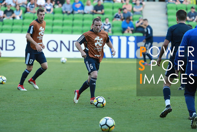 during the AFC Champions League 2018 match between Melbourne Victory (AUS) and Ulsan Hyundai  (KOR) at the Rectangular Stadium on 13 February 2018 in Melbourne, Australia. Photo by Mark Dadswell / Power Sport Images