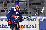 Mannheims David Wolf (Nr.89)  beim Spiel des MAGENTA SPORT CUP 2020, Adler Mannheim (blau) - EHC Red Bull Muenchen (weiss).<br /> <br /> Foto © PIX-Sportfotos *** Foto ist honorarpflichtig! *** Auf Anfrage in hoeherer Qualitaet/Aufloesung. Belegexemplar erbeten. Veroeffentlichung ausschliesslich fuer journalistisch-publizistische Zwecke. For editorial use only.