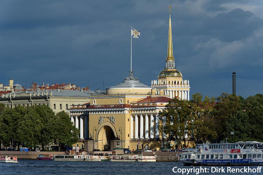 Admiralität, St. Petersburg, Russland, UNESCO-Weltkulturerbe